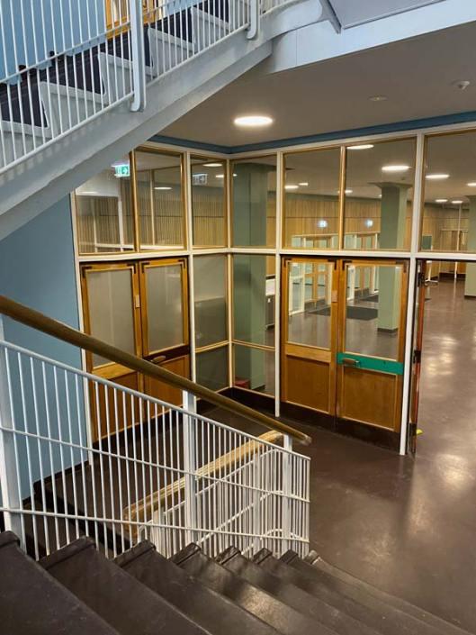 Lundehusskolen trappeopgang
