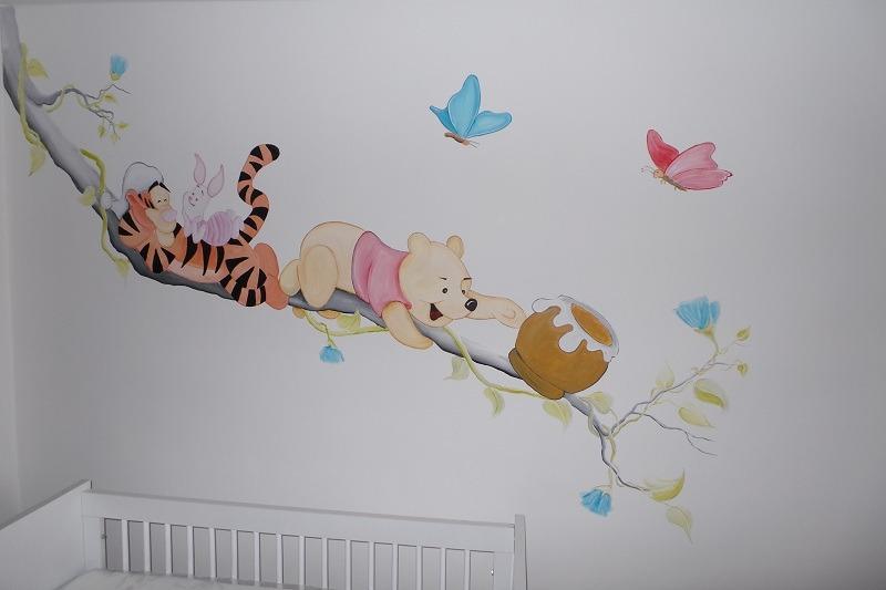 Muurschildering Kinderkamer  Rik Muurschilderingen
