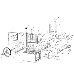 model 10 308 meat saw with sliding table available part diagram assemblies  [ 1000 x 1000 Pixel ]