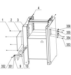 available part diagram assemblies cabinet assembly infeed table assembly  [ 1000 x 1000 Pixel ]