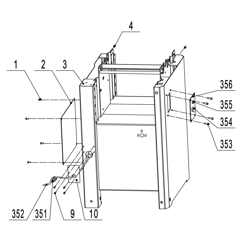 medium resolution of available part diagram assemblies cabinet assembly infeed table assembly