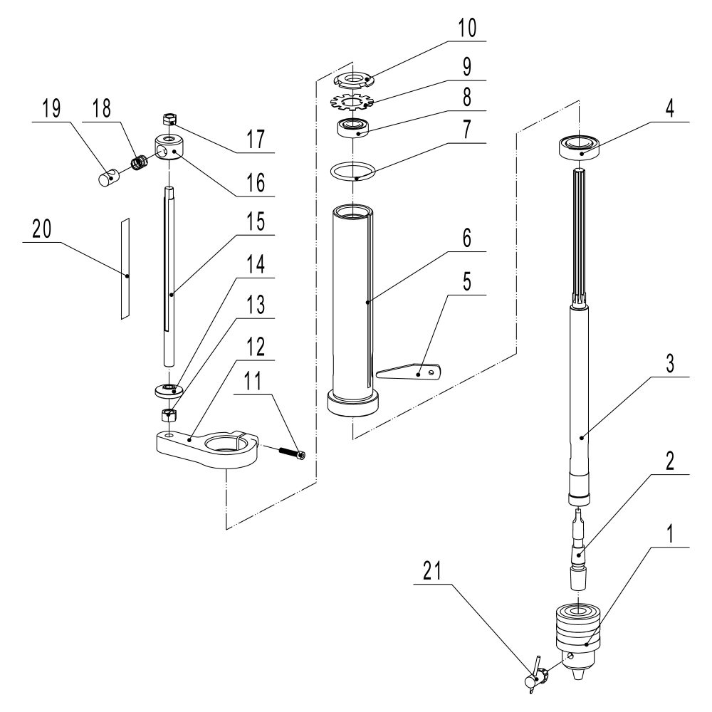 hight resolution of  spindle assembly sheet d