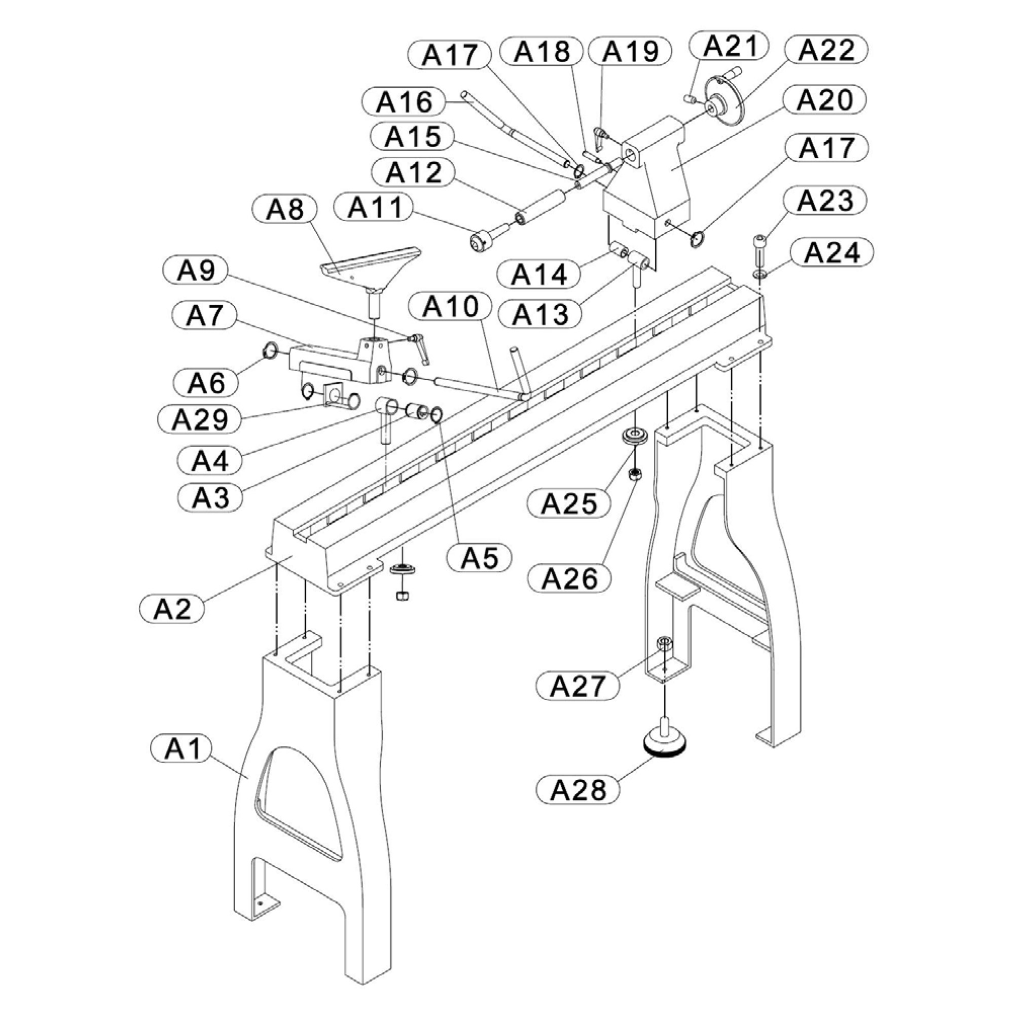 hight resolution of buy rikon model 70 305 replacement parts drive belt a diagram 305 5 0