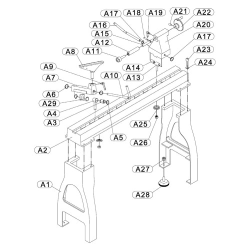 small resolution of buy rikon model 70 305 replacement parts drive belt a diagram 305 5 0