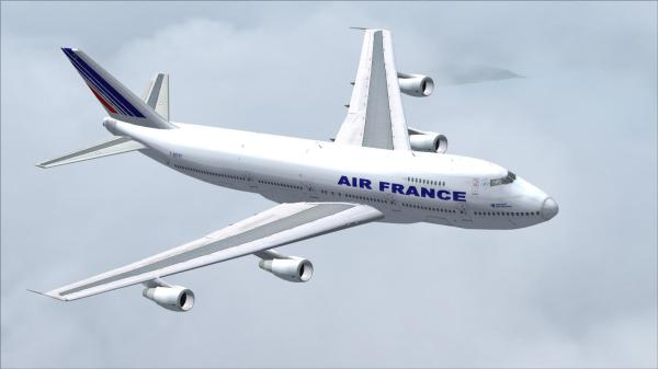 Boeing 747 200 Air France Fs2004 Rikoooo - Year of Clean Water