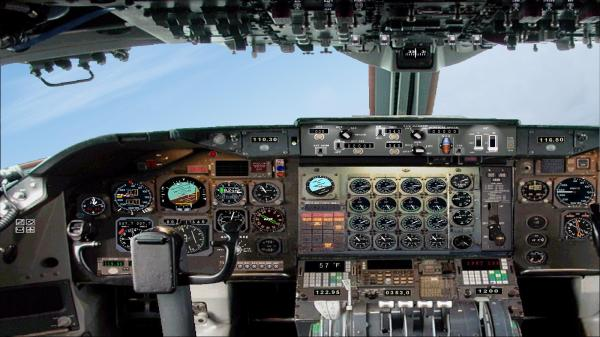 B737 100 Panel - Year of Clean Water