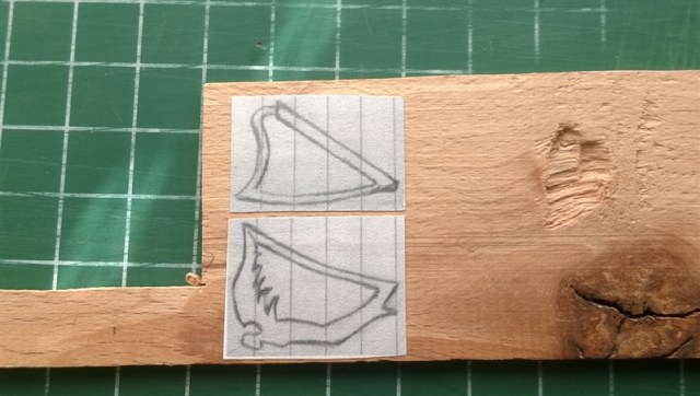 Harp hangertje (3)