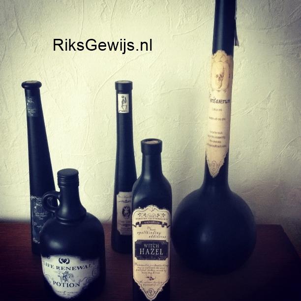 Spooky flesjes