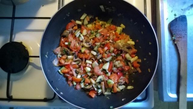groente schotel - vegatirisch met rijst (1)