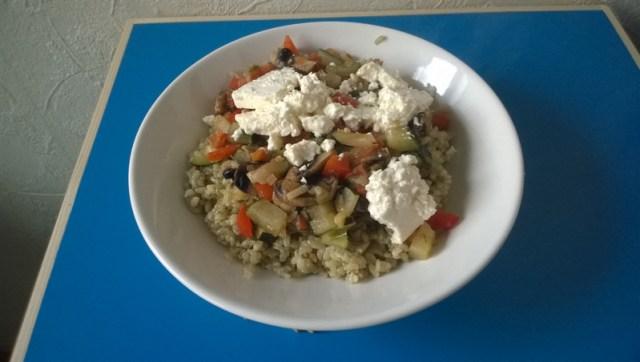groente schotel - vegatirisch met rijst (3)