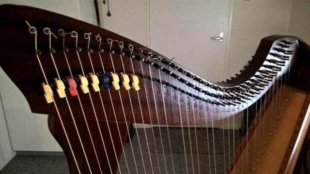 haakjes camac harp terug zetten