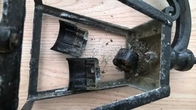 Buiten lamp restauratie (3)