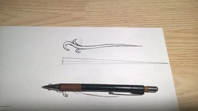 Haar of sjaal pin (2)