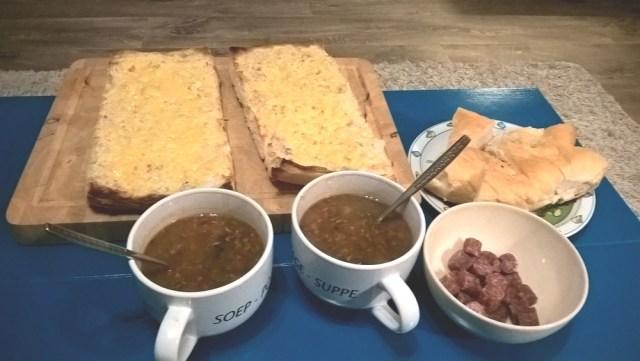 Hartige courgette soep