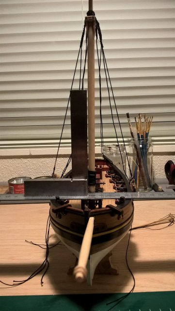 Mast recht of juist monteren