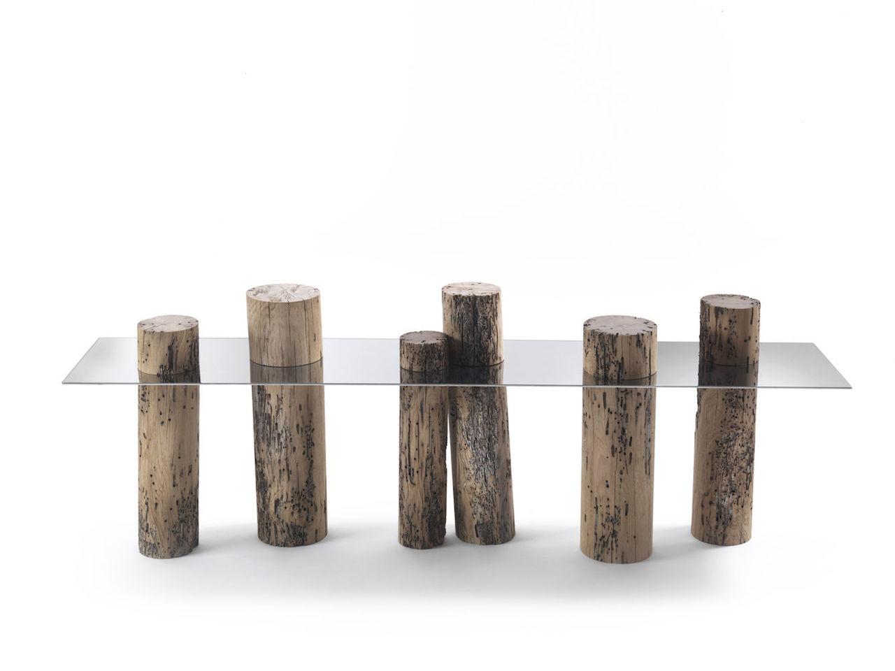 Oggetti di design dal legno di scarto Il lavoro di Riva