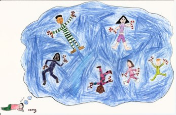 Millennium Card 2000, design by Madeline, age 11