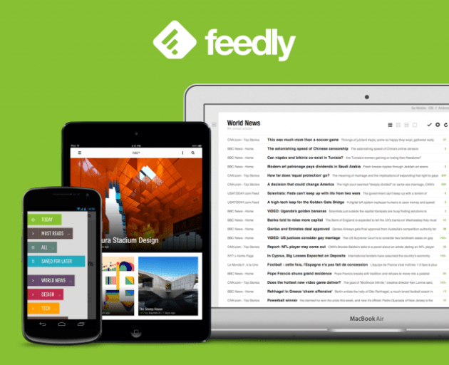 feedly rss feeds riley adam voth recommended