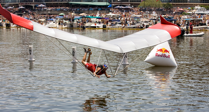 red bull flugtag Contraptions fly, crash at regatta's first flugtag competitiona much anticipated  event at the eqt three rivers regatta kicked off on saturday: the red bull.