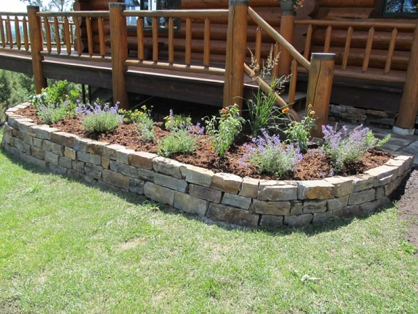 natural stone landscaping riley