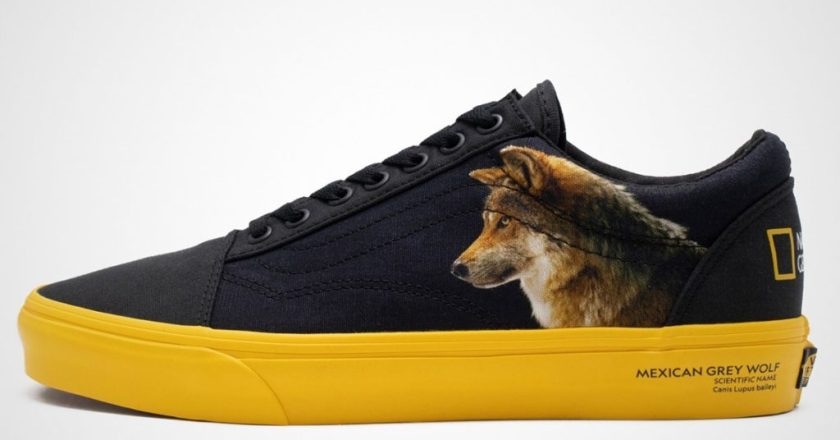 The new Vans sneakers will receive a design from National Geographic