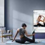 Rotating TVs for watching Instagram and fitness videos are now on sale.