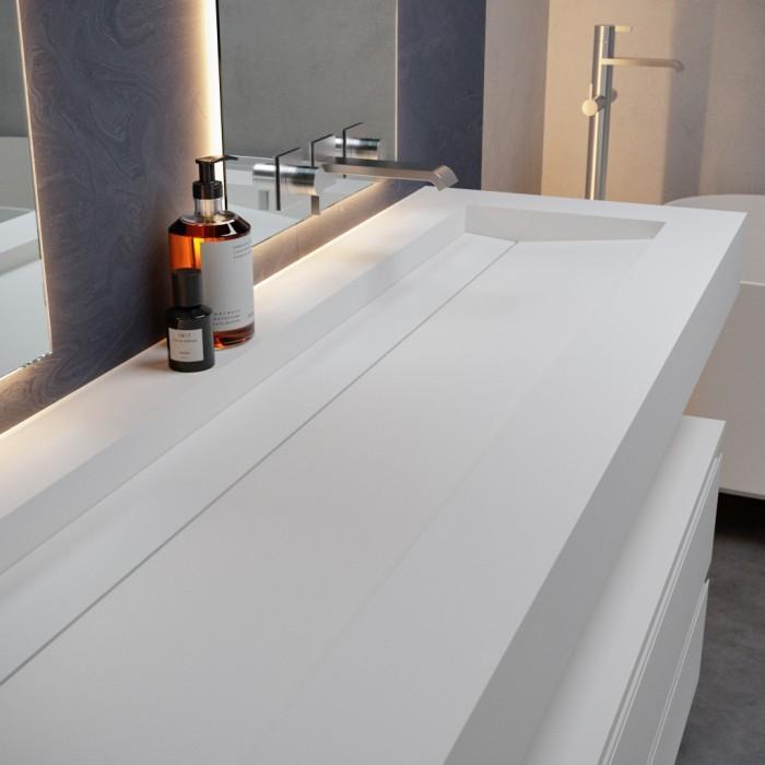 Vasque Corian Alabama Plus Lavabo Solid Surface Riluxa Com