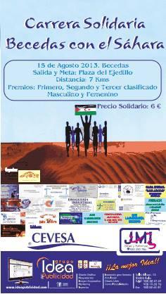 Carrera Solidaria «Becedas con el Sáhara»