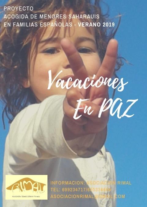 Vacaciones en Paz 2019