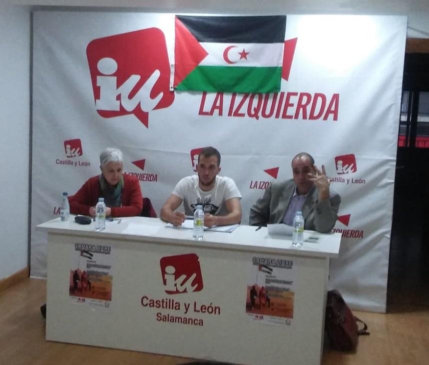 Charlando sobre el Sáhara Occidental con los jóvenes