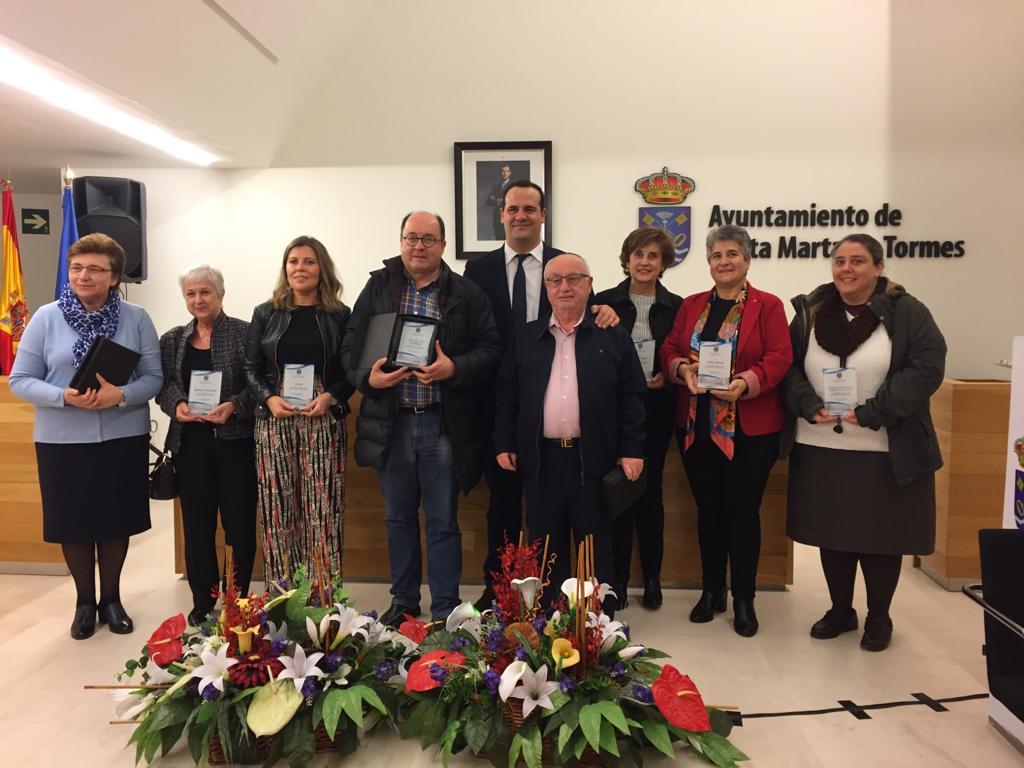 Premio del Ayuntamiento de Santa Marta de Tormes a la labor solidaria de RIMAL