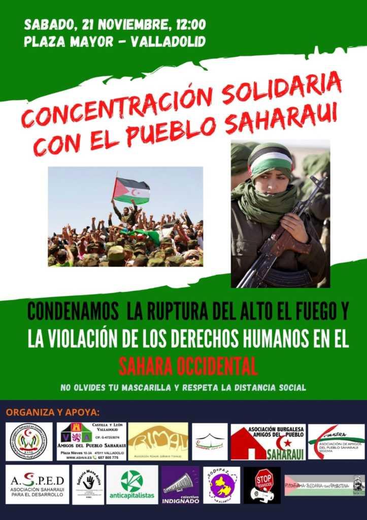 Seguiremos alzando la voz por el Pueblo saharaui