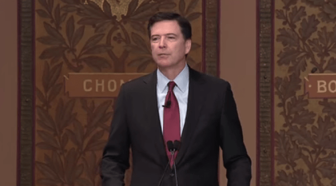 FBI Director Comey's Truths about Policing and Race