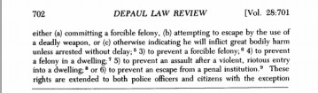 Uses and Misuses of deadly force