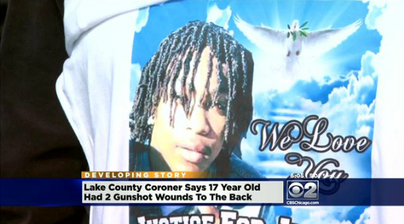 UPDATED: #JustusHowell, 17, shot in the back in Zion, Illinois | #BlackLivesMatter