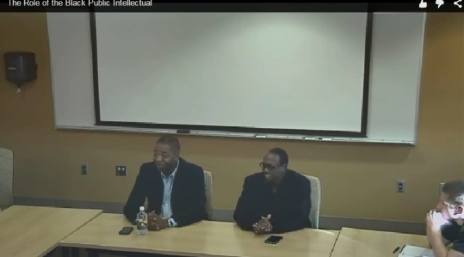 Some thoughts on @NewBlackMan and @DrJamesPeterson: The Role of Black Intellectuals | #BlackCultureMatters on Blog#42