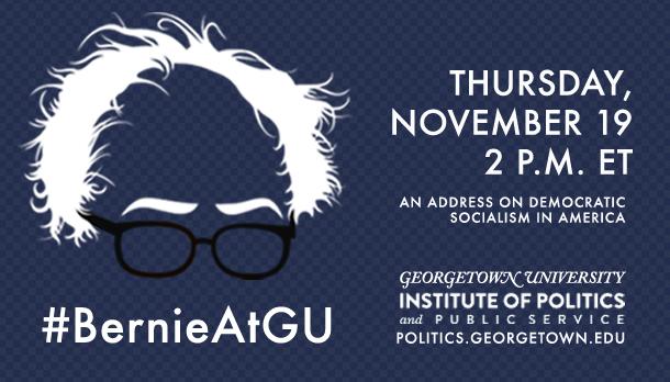 Bernie Sanders on #DemocraticSocialism at Georgetown University | #BernieAtGU on Blog#42