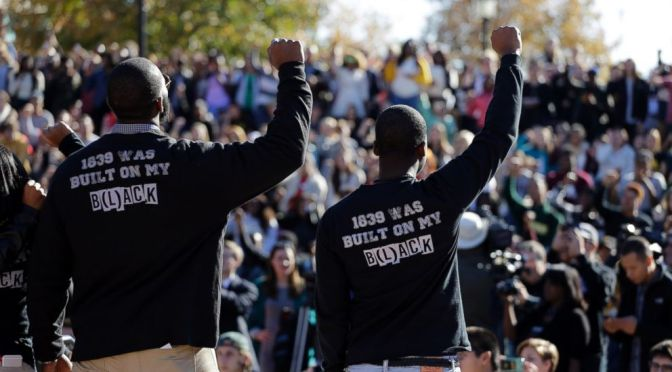 Some (choice) notes on Jonathan Zimmerman's #BlackOnCampus op-ed | #BlackLivesMatter to Blog#42