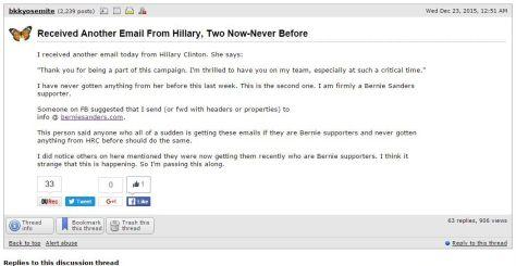 HillarySpamDemUnderground