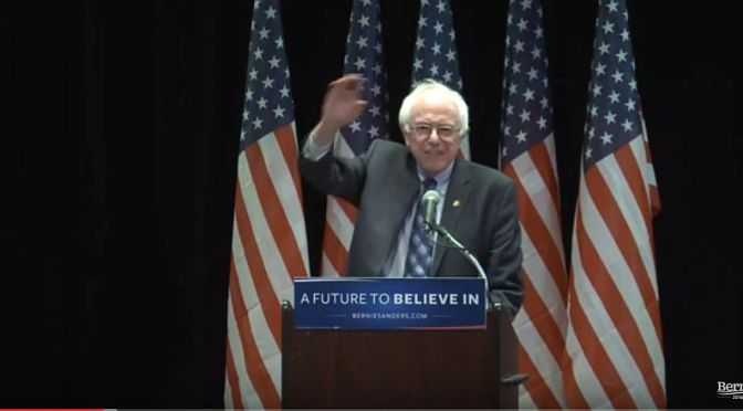 @BernieSanders' walloping #BreakEmUp speech on #WallStreet | #BernieSanders on Blog#42