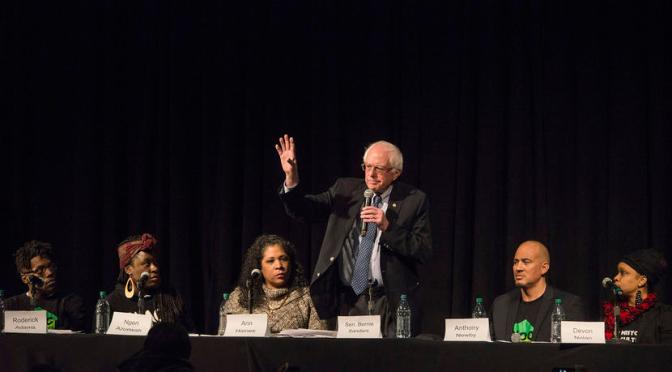 Forum with #BernieSanders, NOC and Keith Ellison: Black Experience In Minnesota