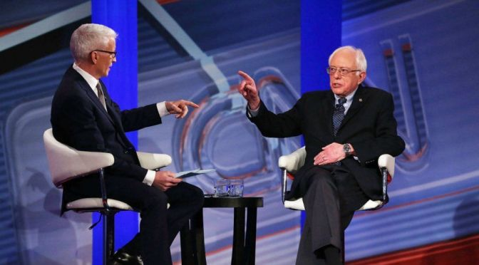 #BernieSanders On #Israel, Palestine, Middle East Policy & ISIS | CNN Final Five on Blog#42