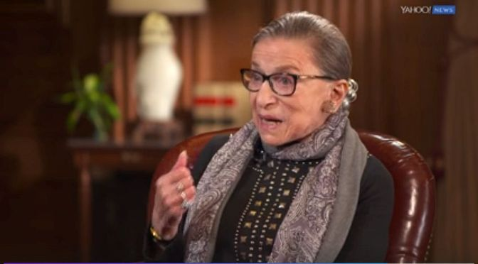 Ruth Bader Ginsburg's Kaepernick Comment: A Sign of Emerging Liberal Anti-#BlackLivesMatter Bias | Blog#42