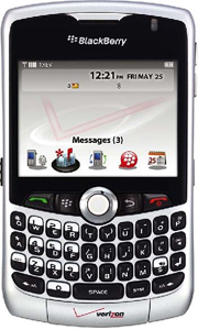 Verizon BlackBerry Curve Picture