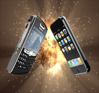 How Is The iPhone Killing The BlackBerry?