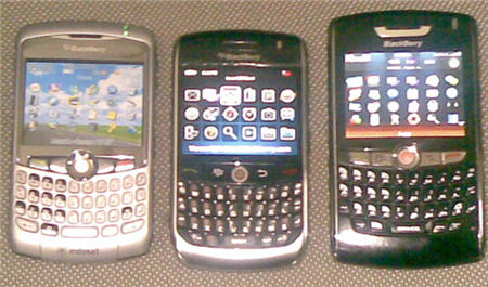 The BlackBerry Javelin Is Very Small Compared To Other Full QWERTY Keyboard BlackBerrys