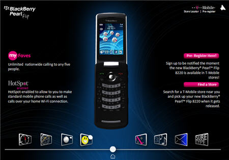The BlackBerry Pearl Filp Has Been Officially Announced