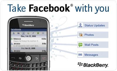 FaceBook 1.5 For BlackBerry Just Around The Corner