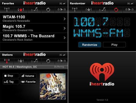 iHeartRadio: Streaming Internet Radio For The BlackBerry