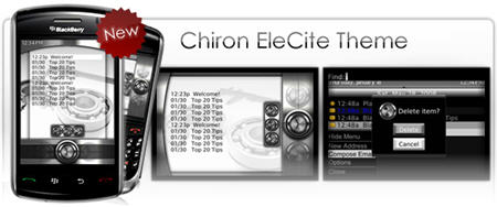 Premium BlackBerry Theme:  Chiron